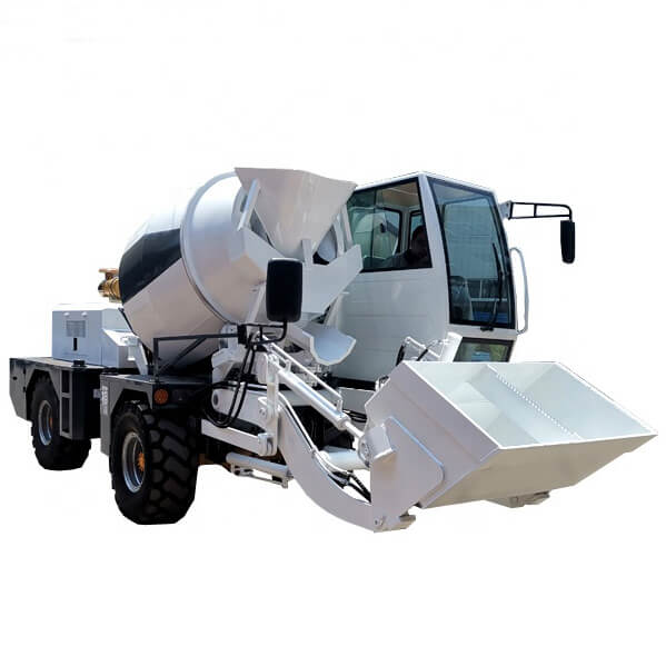 hot selling 2.5m3 self loading concrete mixers