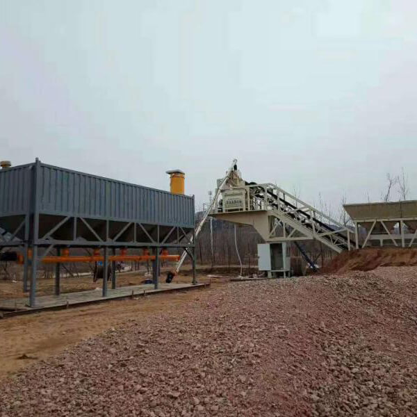 75m3 mobile mixing plant