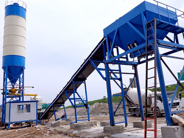 500T Stabilized Soil Mixing Plant (Pug mill) in Myanmar