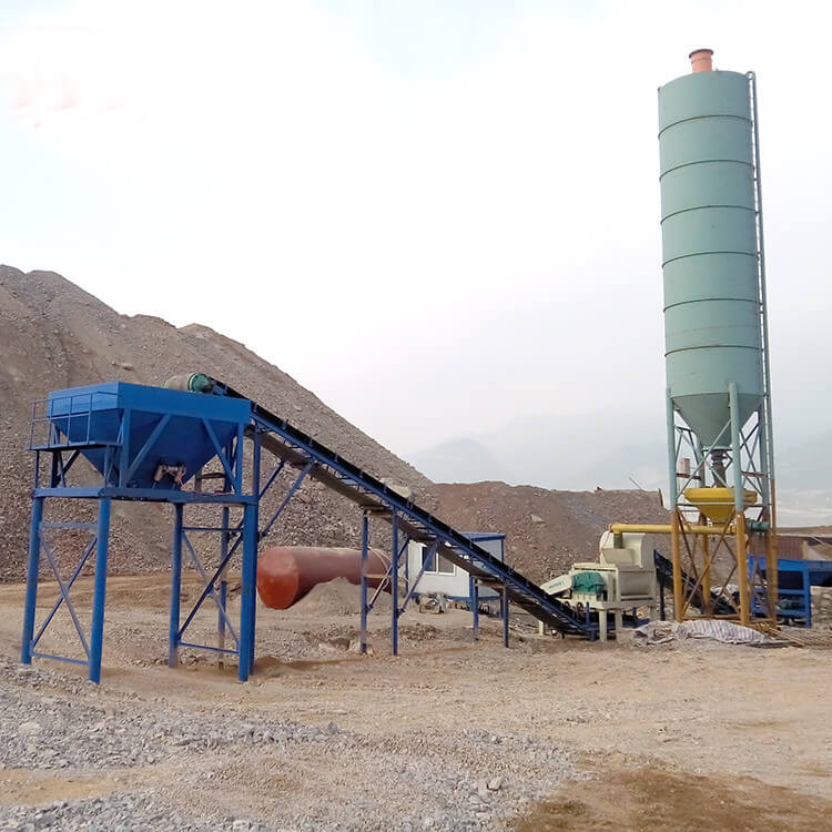 300T stabilized soil mixing plant for mixing road base