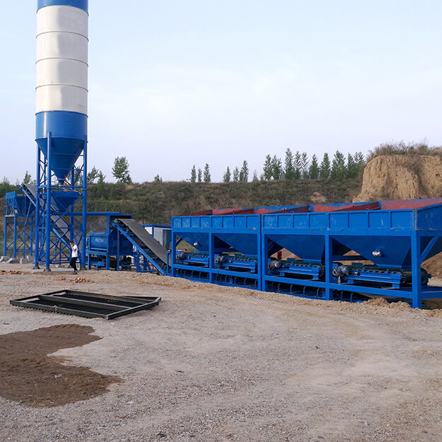 stabilized soil mixing plant 500t per hour