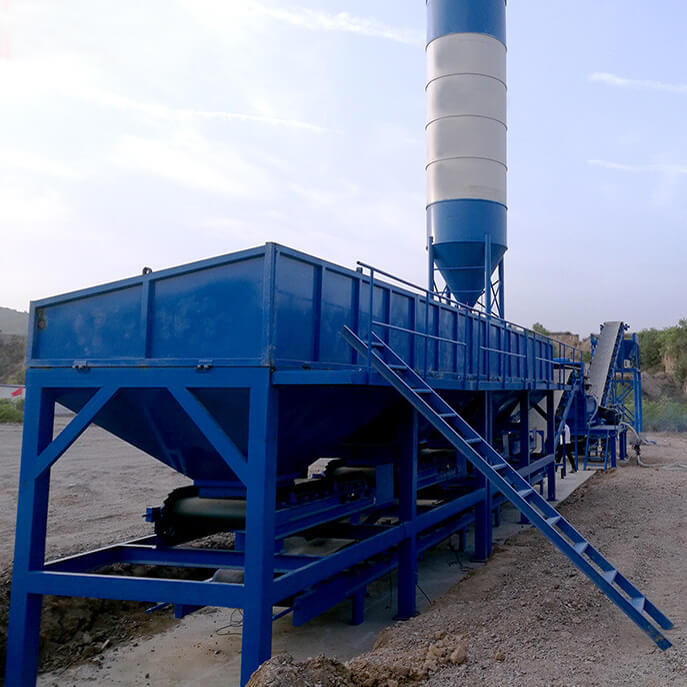 stabilized soil mixing plant 600t per hour