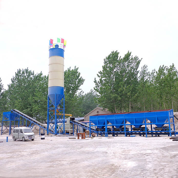 600t stablized soil mixing plant for road construction